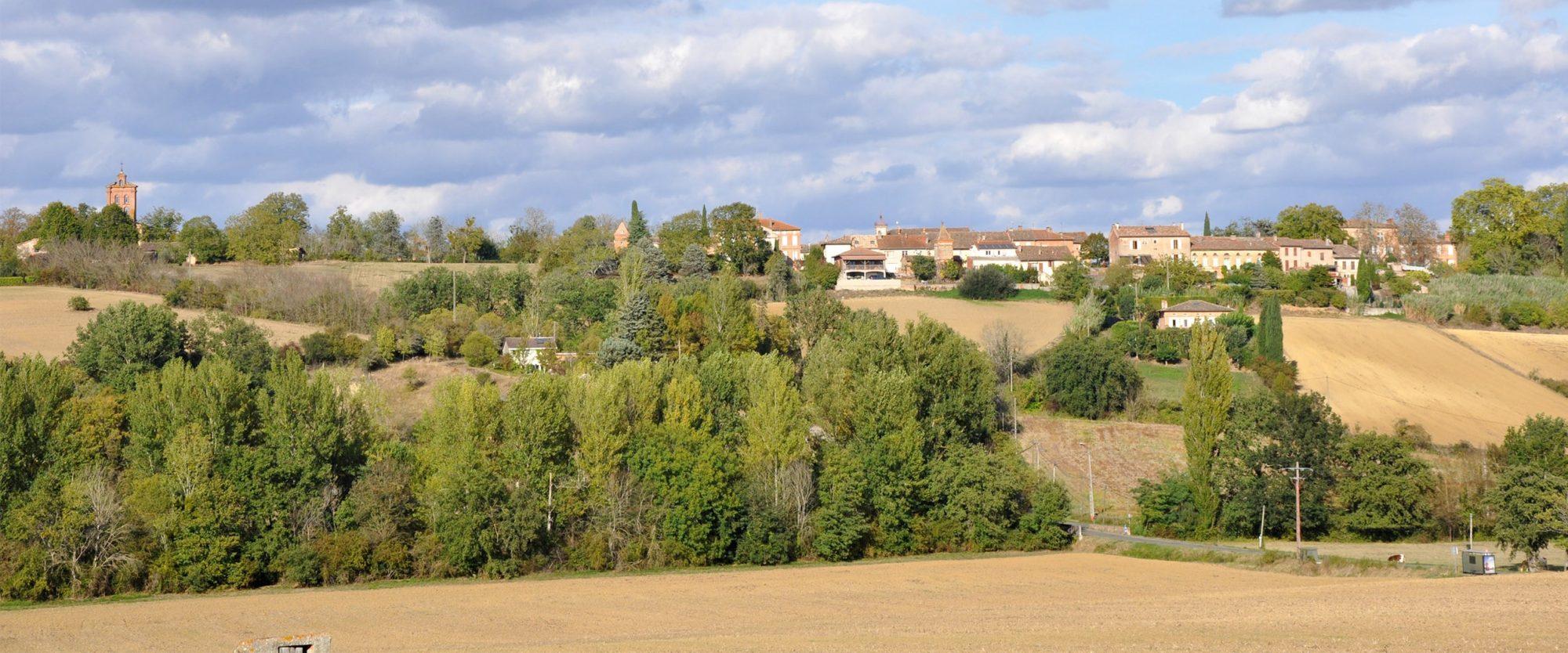 AZAS, commune rurale en Haute-Garonne